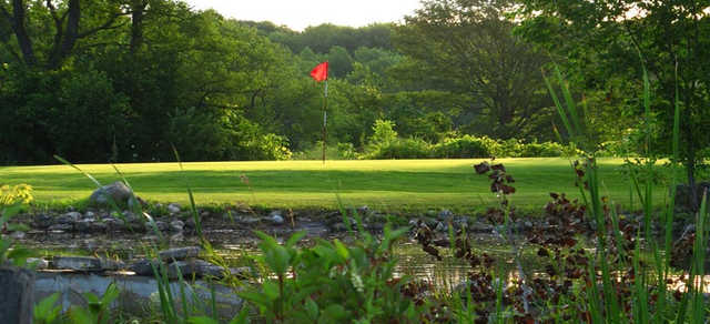 A view of a hole at Stonehedge Golf Course.