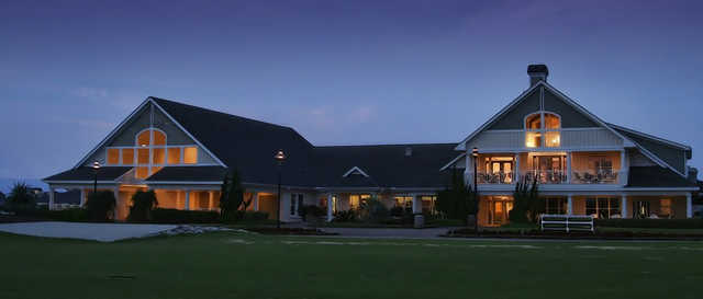 A view of the clubhouse at The Currituck Club.