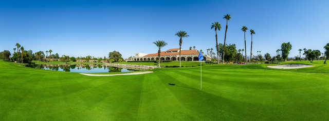 A view from a green at Palm Desert Resort Country Club