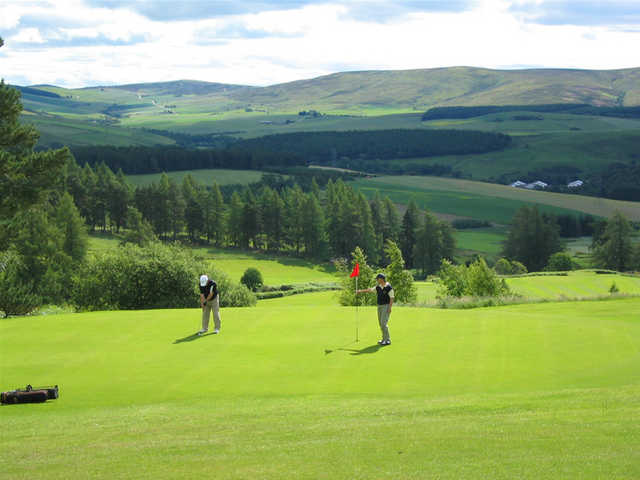 Dufftown Golf Club - Hole #6