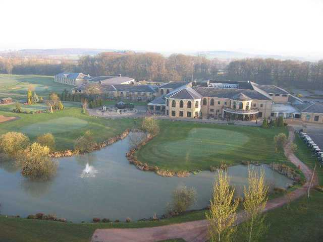 Aerial view from Belton Woods Golf Club