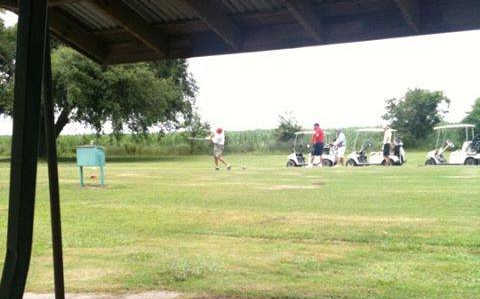 A view from Bayouside Golf Club.