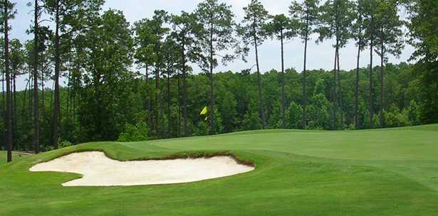 A view of green at King's Grant Golf & Country Club