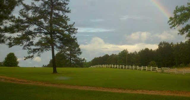 A view from Pine Hills Country Club.