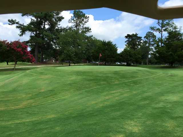 A view of green #5 at Bel Air Golf Course.
