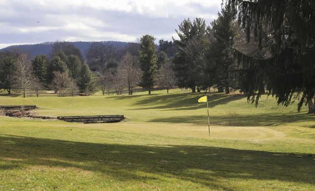 A view of a green at Waynesboro Country Club (Dailyprogress).