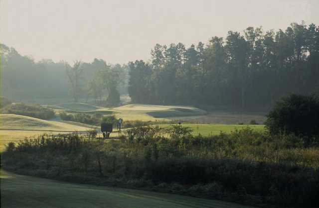 A view of hole #10 from fairway #18 at The Challenge Golf Club