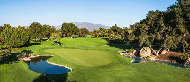 A view of a green at Temecula Creek Inn Golf Resort.
