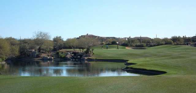 A view of the 7th hole at Legend Trail Golf Club