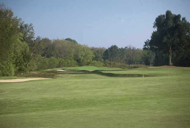 A view of the 4th hole at The Challenge Golf Club