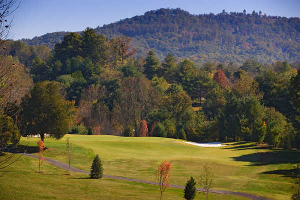 A view of the 13th hole at Cummings Cove Golf & Country Club.