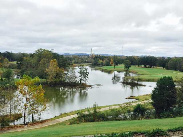A view from Twin Bridges Golf Club.