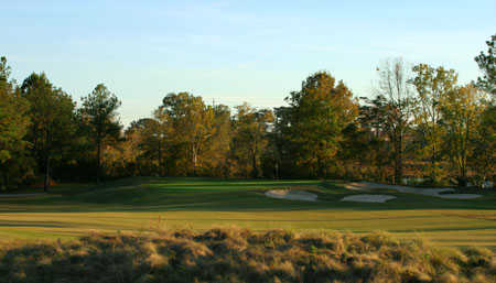 A view of the 11th hole at Twin Bridges Golf Club.