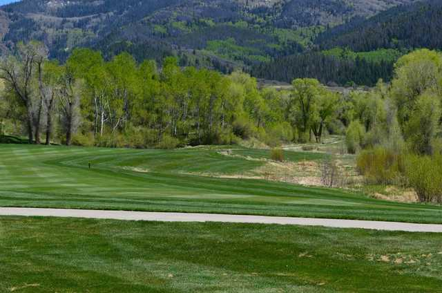 A view of a fairway at Catamount Ranch and Club.