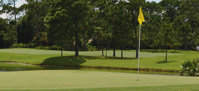 A view of a hole at Executive Course from The Legacy Golf & Tennis Club.