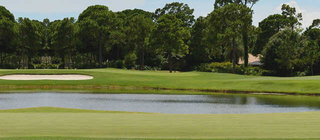 A view over the water from Executive Course from The Legacy Golf & Tennis Club.