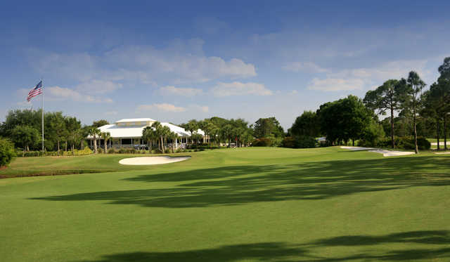A view of the clubhouse at The Legacy Golf & Tennis Club.