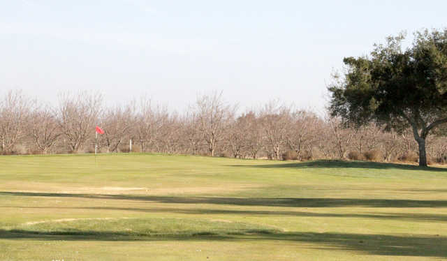A view of a green at St. Stanislaus Golf Course.