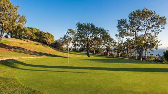 A view of a green at Palos Verdes Shores Golf Club (Suncommunities).
