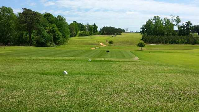 A view of a green at County Line Country Club (Scott Casey).