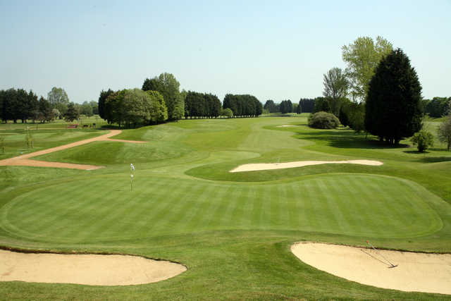 View from the 2nd hole at Bicester Golf & Country Club