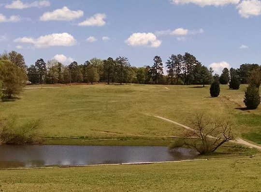 A view over the water from Donaldson Center Golf Club (David Case).
