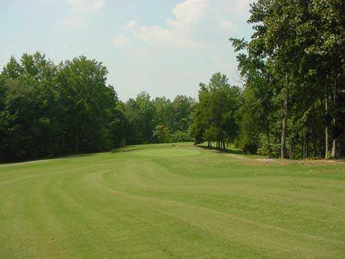 A view of the 4th hole at King's Mountain Country Club