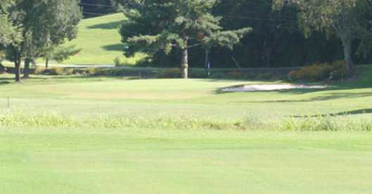 A sunny day view from Lenoir Golf Course
