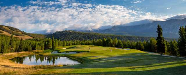 A view of a hole at Spanish Peaks Mountain Club.