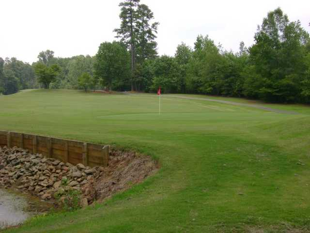A view of green at Lincoln Country Club