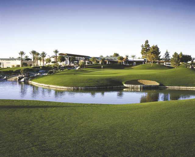 View from Ocotillo Golf Resort