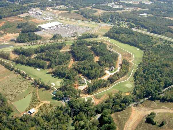Aerial view from Red Bridge Golf & Country Club