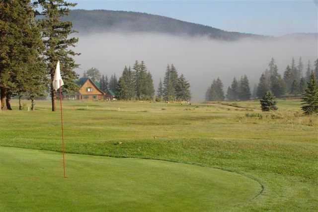 A view of a hole at El Valle Escondido Golf Course.