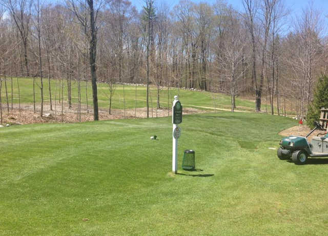 A view of the 6th tee at Stonehedge Golf Course.