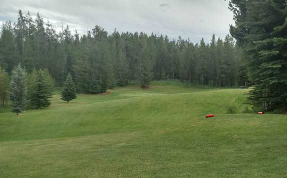 A view from a tee at Timberline Golf Course (Heather Butler).