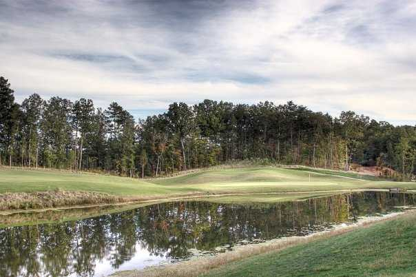 A view of the 12th hole at Red Bridge Golf & Country Club