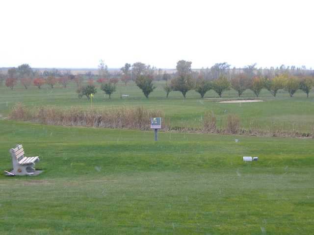 A view of tee #1 at Star City Golf Course.