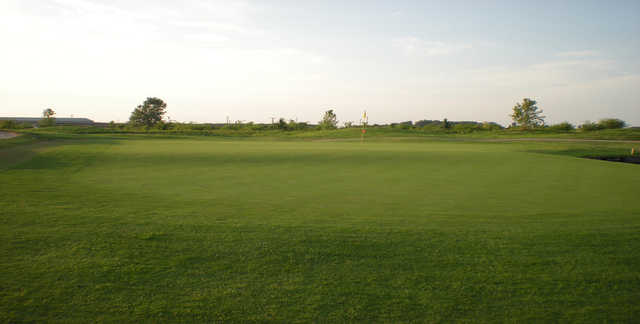 A view of a hole at Thunder Bayou Golf Links.