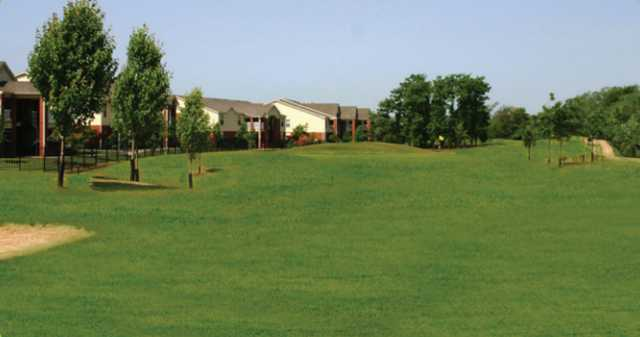 A view from Links at Bentonville Golf & Athletic Club.