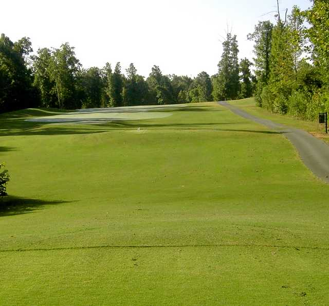 A view from tee #13 at Quaker Creek Golf Course