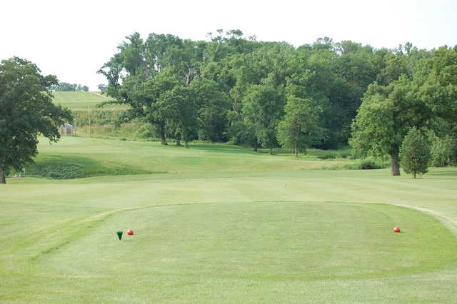 A view from tee #1 at Diamond Trail Golf Club.