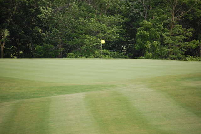A view of the 5th green at Diamond Trail Golf Club.