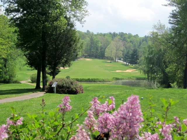 A view of the 6th hole at High Vista Country Club.