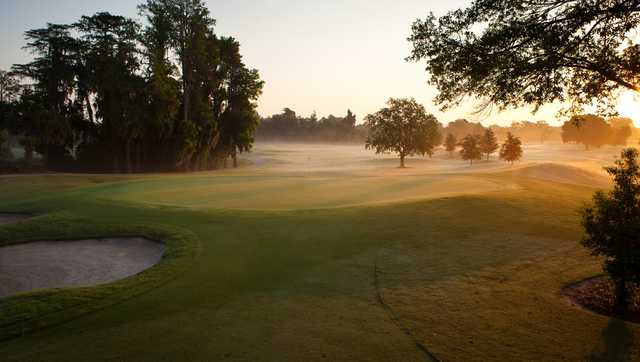 View of a green at Dubsdread Golf Course