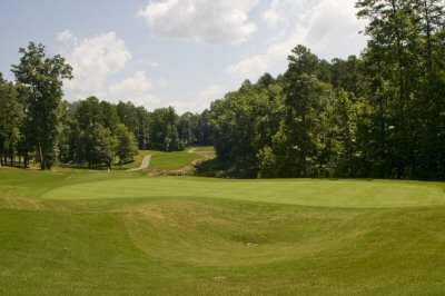 A view of hole #12 at The Tillery Tradition Country Club