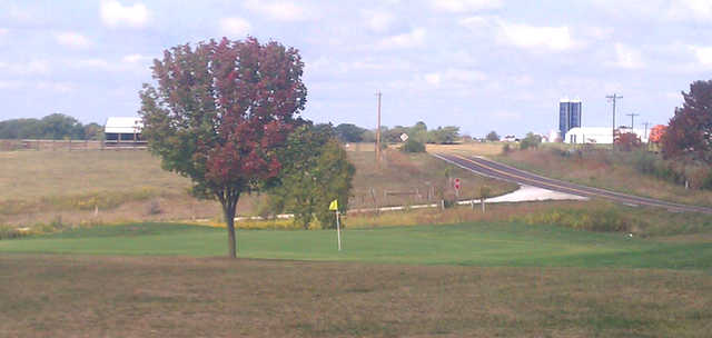 A view of a green at Mark Twain Country Club (Scott Hartman).