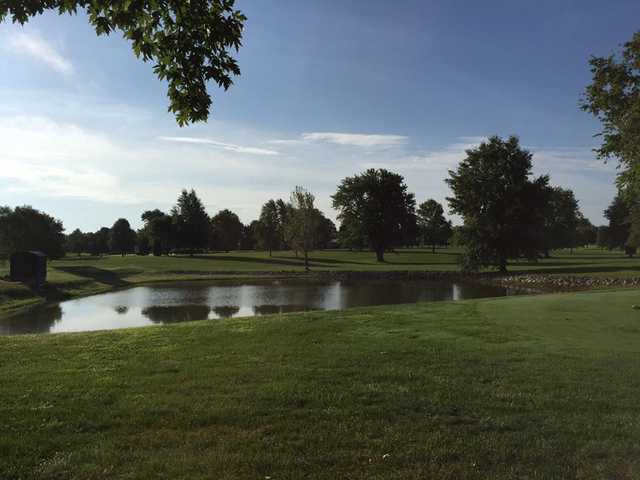 A view over the water from Jackson Park Golf Course.
