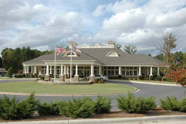 A view of the clubhouse at The Tillery Tradition Country Club