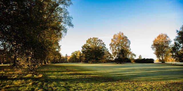 A view from Swaffham Golf Club