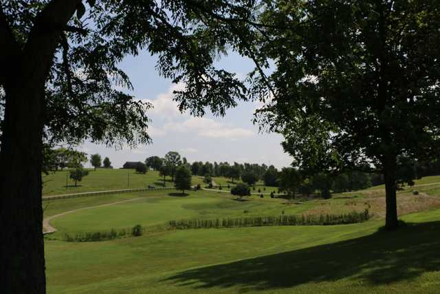 A view from Thoroughbred Golf Club at High Point